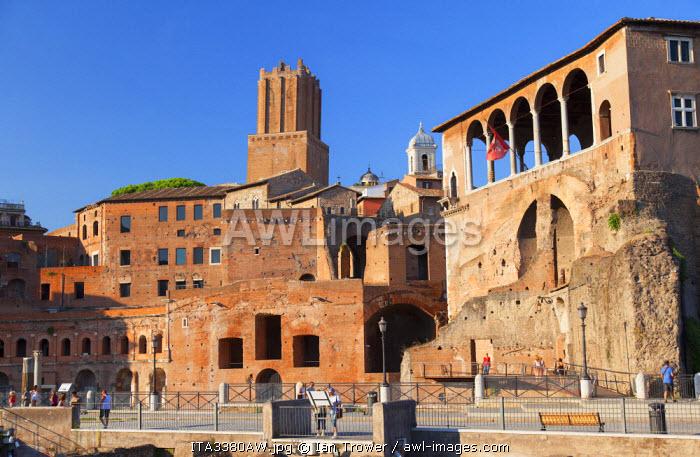 Trajan's Market (UNESCO World Heritage Site), Rome, Lazio, Italy