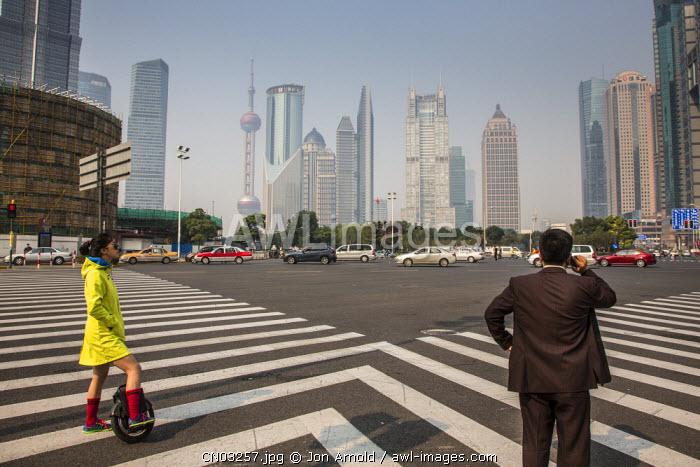Lujiazui, Pudong, Shanghai, China