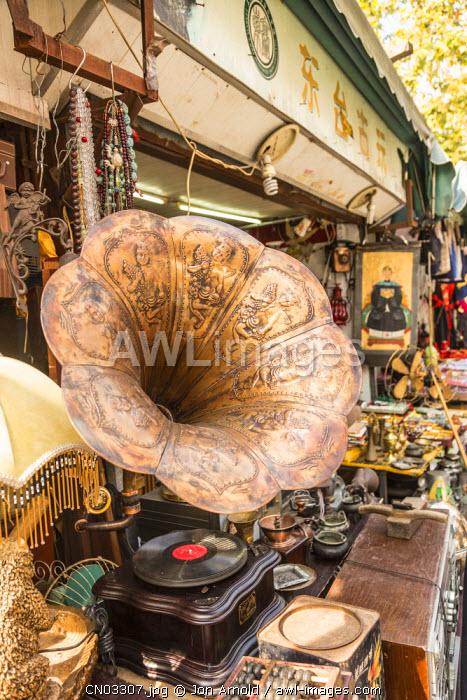 Old gramaphone, Dongtai Road Antiques Market, Shanghai, China