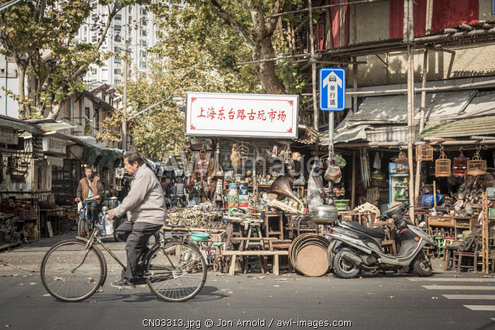 Dongtai Road Antiques Market, Shanghai, China
