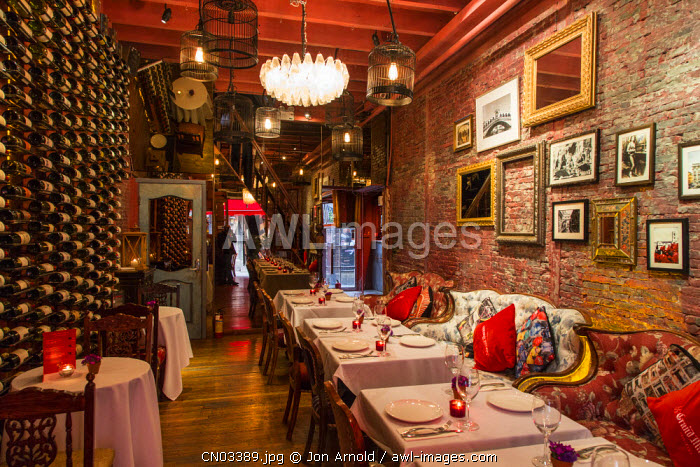 Restaurant in Tianzifang, French Concession, Shanghai, China