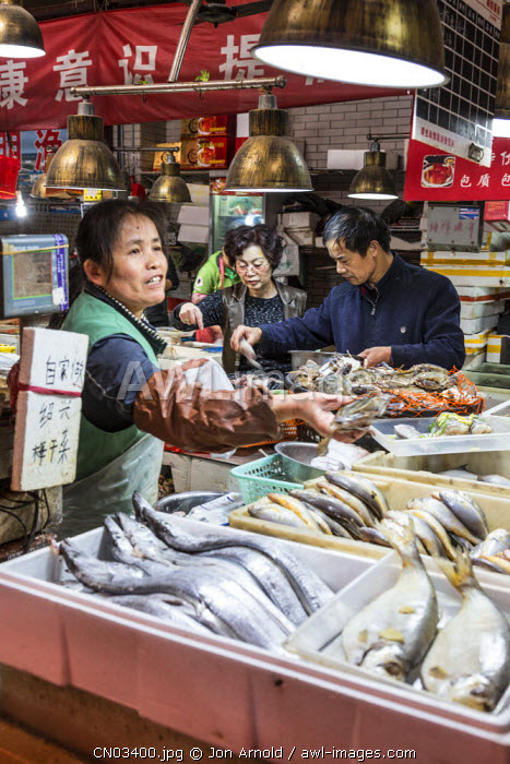 Market at Tianzifang, French Concession, Shanghai, China
