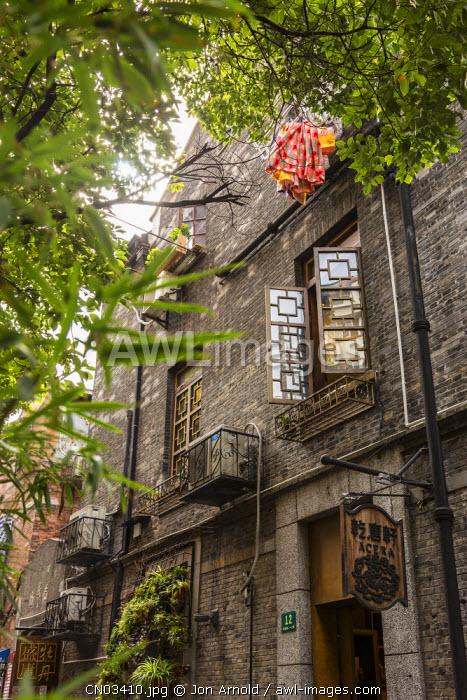 Converted shikumen houses, Tianzifang, French Concession, Shanghai, China