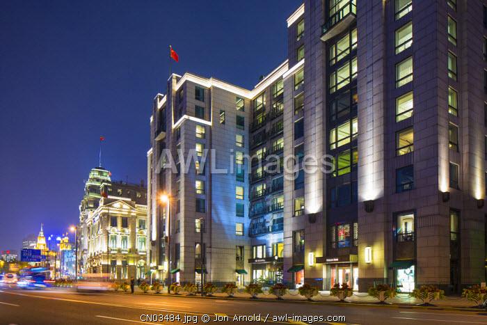 Peninsula Hotel, The Bund, Shanghai, China