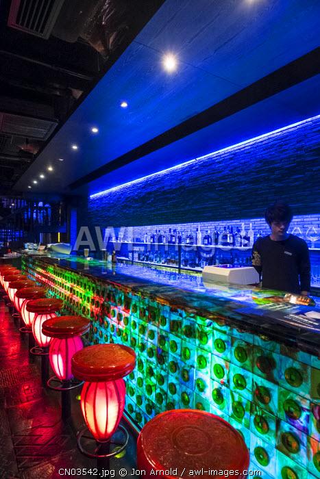 TMSK bar, Xintiandi, Shanghai, China