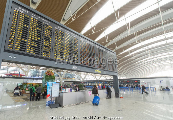 Pudong International Airport, Shanghai, China