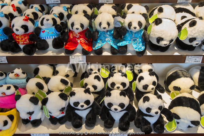 Cuddly Pandas for sale, Shanghai, China