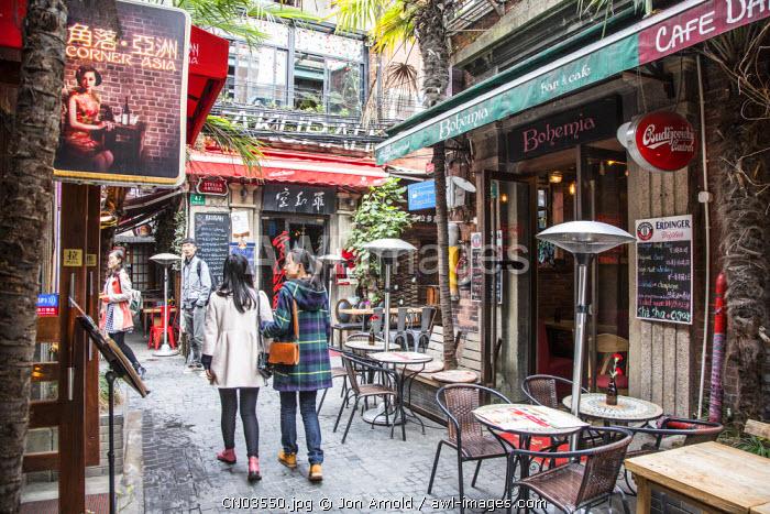 Tianzifang, French Concession, Shanghai, China
