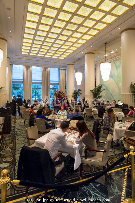 High Tea at the Peninsula Hotel, The Bund, Shanghai, China