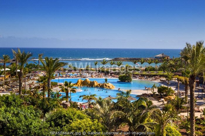 Pool, Hotel Sheraton, Caleta de Fuste, Fuerteventura, Canary Islands, Spain