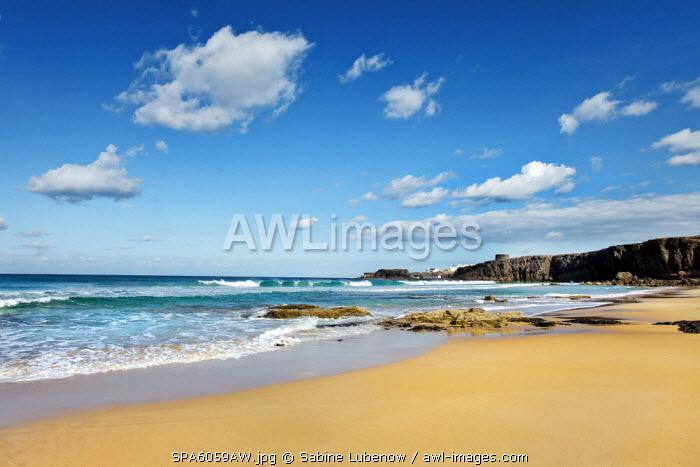 Beach, El Cotillo, Fuerteventura, Canary Islands, Spain