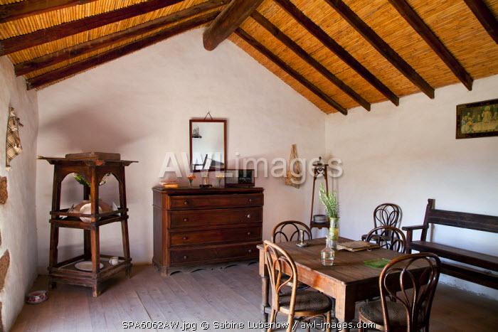 Interior, Open air museum, Ecomuseo La Alcogida, Tefia, Fuerteventura, Canary Islands, Spain