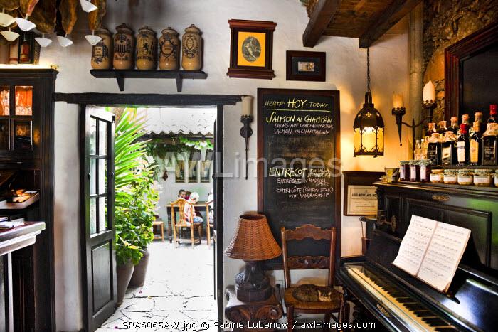 Restaurant Casa Santa Maria, Betancuria, Fuerteventura, Canary Islands, Spain