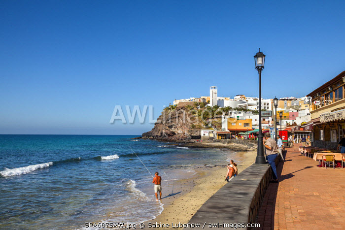 Old town, Morro Jable, Fuerteventura, Canary Islands, Spain
