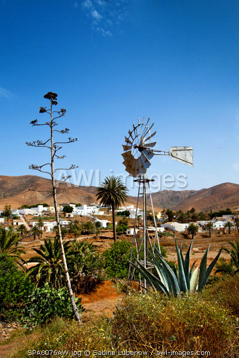 Mountain village Toto, Fuerteventura, Canary Islands, Spain