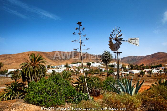 Mountain village Toto, Fuerteventura, Canary Islands, Spain