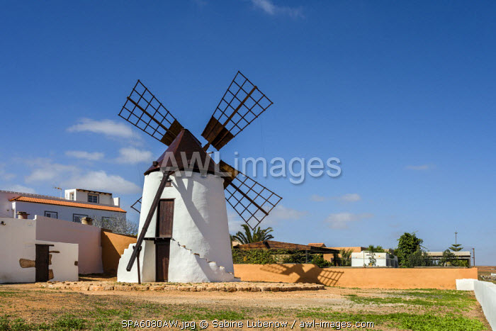 Wind mill, Antigua, Fuerteventura, Canary Islands, Spain