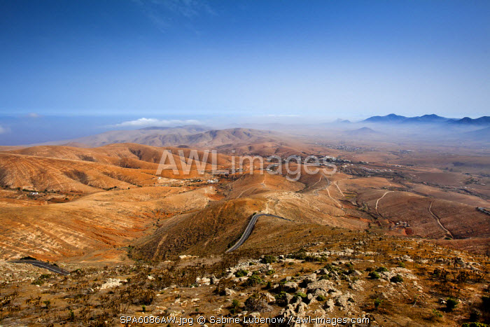 View from Mirador Morro Velosa, Fuerteventura, Canary Islands, Spain