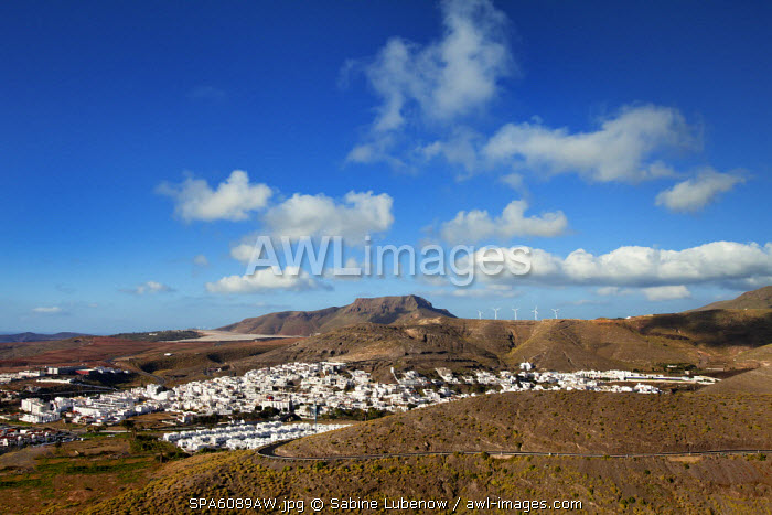 View towards Agaete, Gran Canaria, Canary Islands, Spain