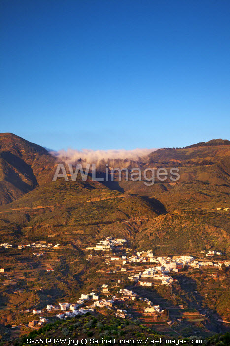 View towards Tejeda, Gran Canaria, Canary Islands, Spain