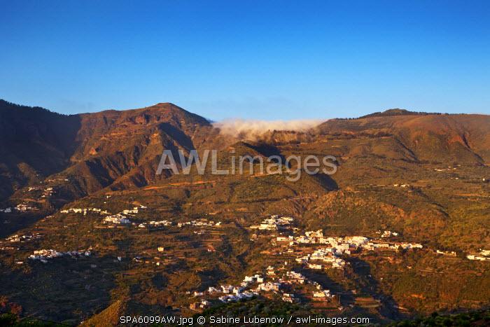 View towards Tejeda, Gran Canaria, Canary Islands, Spain