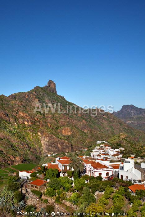 Tejeda and Roque Bentayga, Gran Canaria, Canary Islands, Spain