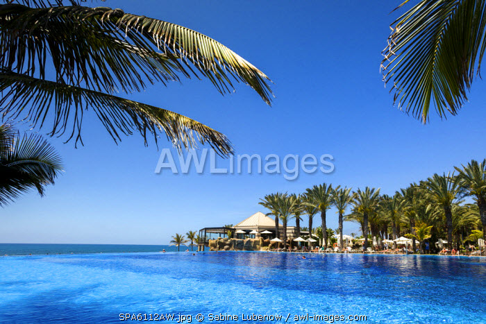 Pool, Grand Hotel Costa Melonares, Maspalomas, Gran Canaria, Canary Islands, Spain