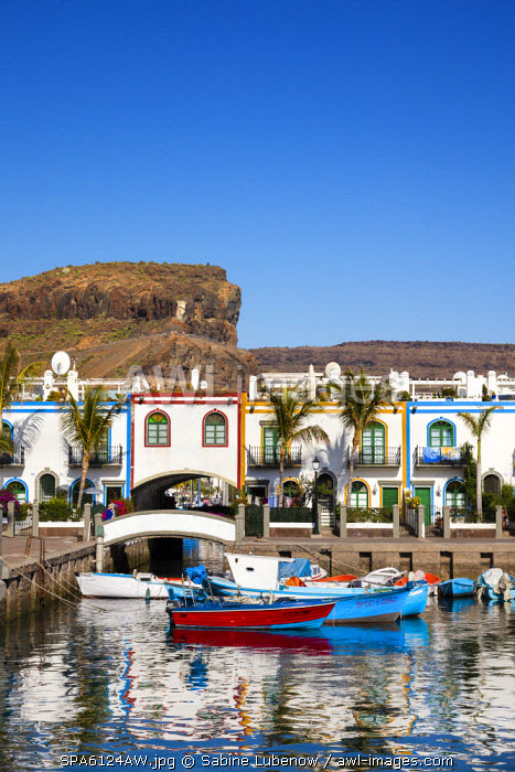 Marina, Puerto de Mogan, Gran Canaria, Canary Islands, Spain
