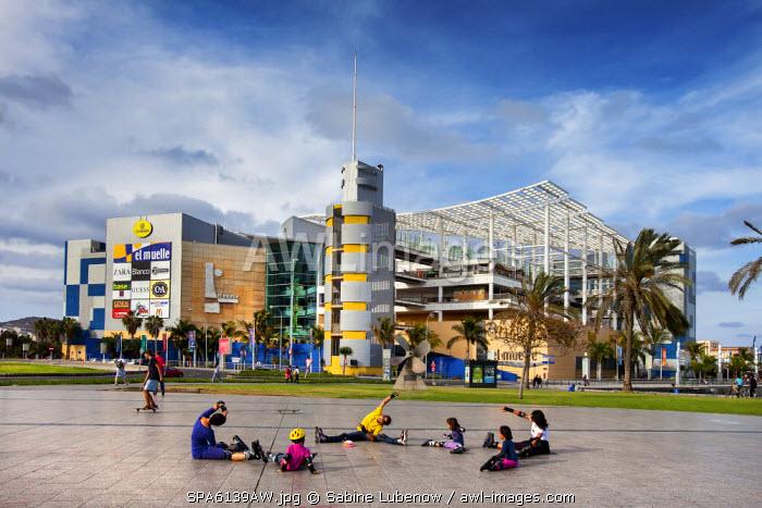 Shopping centre El Muelle, Las Palmas, Gran Canaria, Canary Islands, Spain
