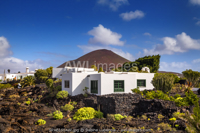 Fundacion Cesar Manrique, Tahiche, Lanzarote, Canary Islands, Spain