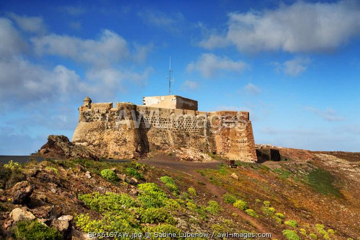 Castillo de Santa Barbara, Teguise, Lanzarote, Canary Islands, Spain