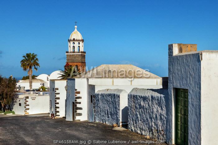 Church Nuestra Senora de Guadalupe, Teguise, Lanzarote, Canary Islands, Spain
