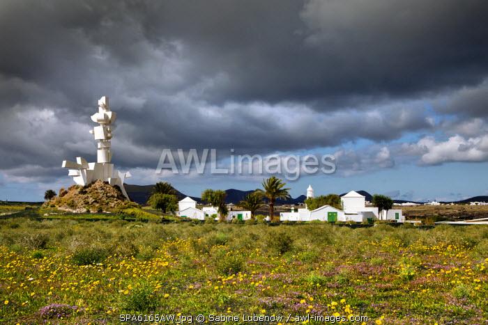 Monumento al Campesino, Cesar Manrique, San Bartholomé, Lanzarote, Canary Islands, Spain