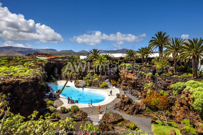 Jameos del Agua, architect Cesar Manrique, Lanzarote, Canary Islands, Spain