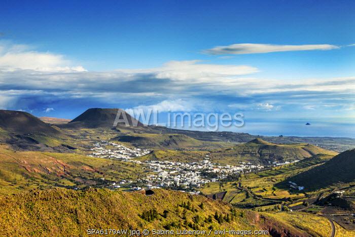 View towards Haria, Lanzarote, Canary Islands, Spain