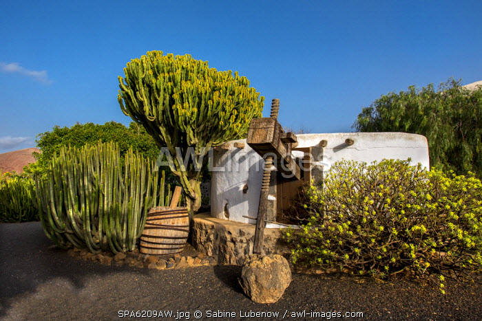 Agriculture museum, Museo Agricola El Patio, Tiagua, Lanzarote, Canary Islands, Spain
