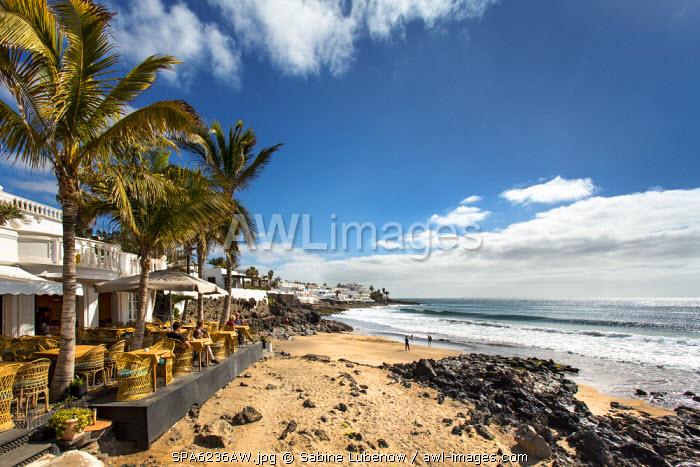 Restaurant Terraza Playa, Playa de la Penita, Puerto del Carmen, Lanzarote, Canary Islands, Spain