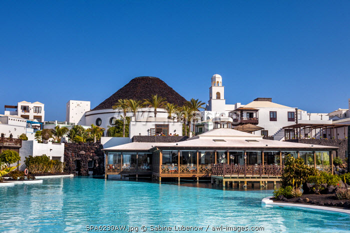Hotel Volcan, Marina Rubicon, Playa Blanca, Lanzarote, Canary Islands, Spain
