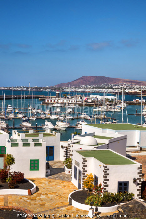 New harbour, Marina Rubicon, Playa Blanca, Lanzarote, Canary Islands, Spain