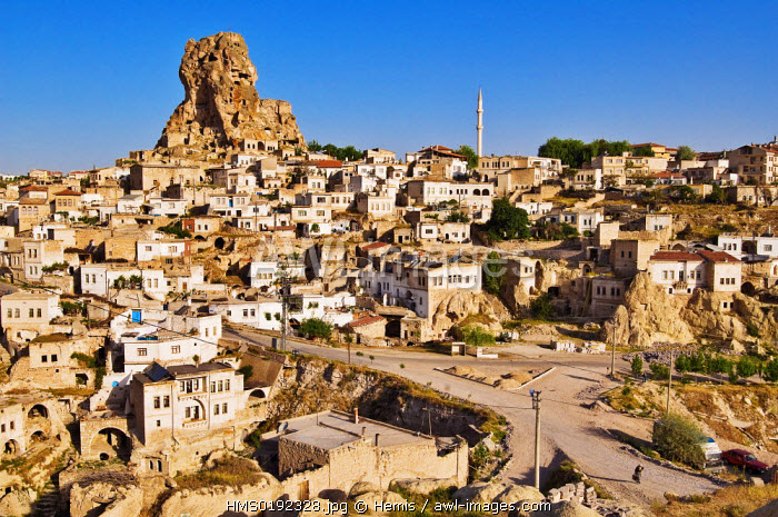 Turkey, Central Anatolia, Cappadocia, listed as World Heritage by UNESCO, Ortahisar village