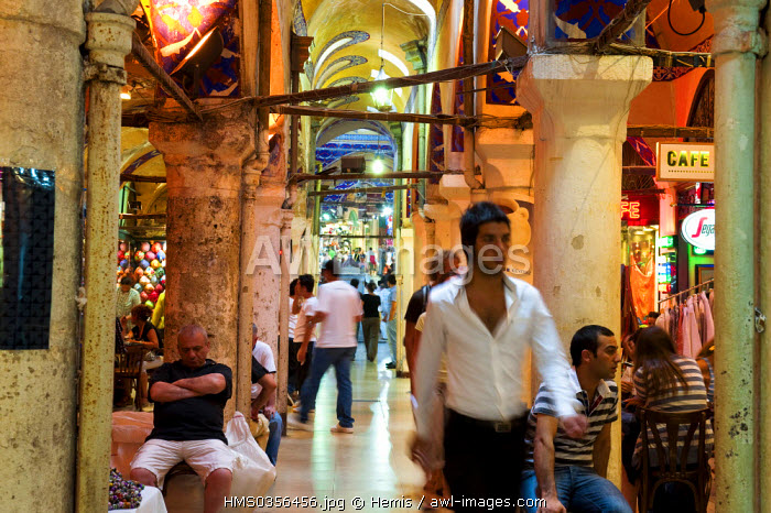Turkey, Istanbul, historical centre listed as World Heritage by UNESCO, Sultanahmet District, the Grand Bazaar or Kapali Carsi