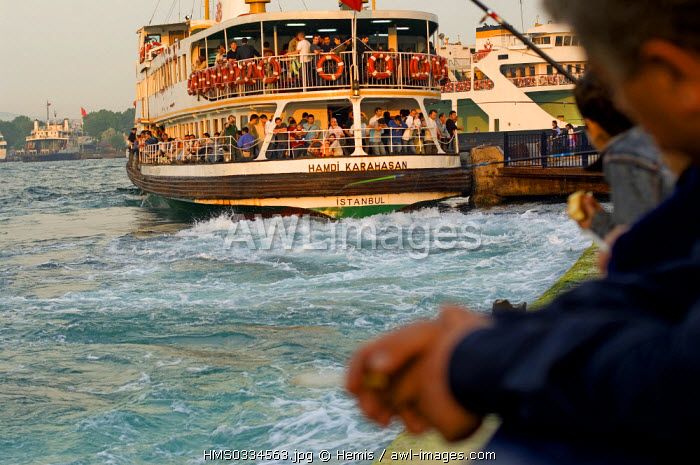 Turkey, Istanbul, Bosphorus Strait