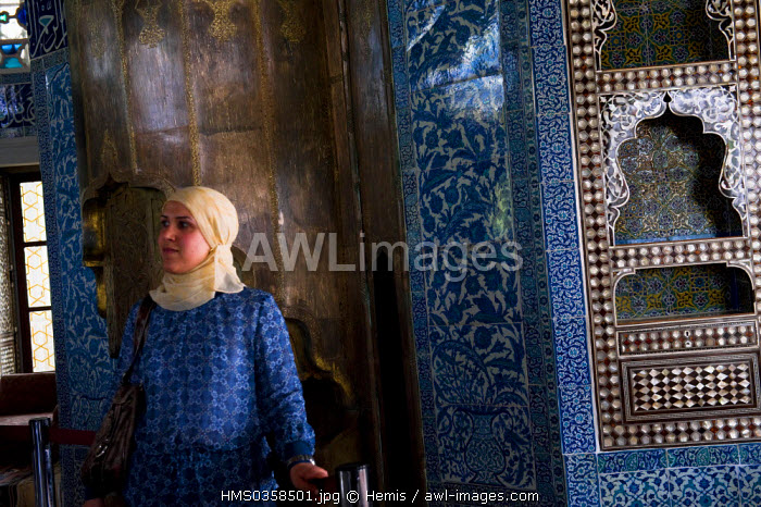 Turkey, Istanbul, historical centre listed as World Heritage by UNESCO, Topkapi Palace