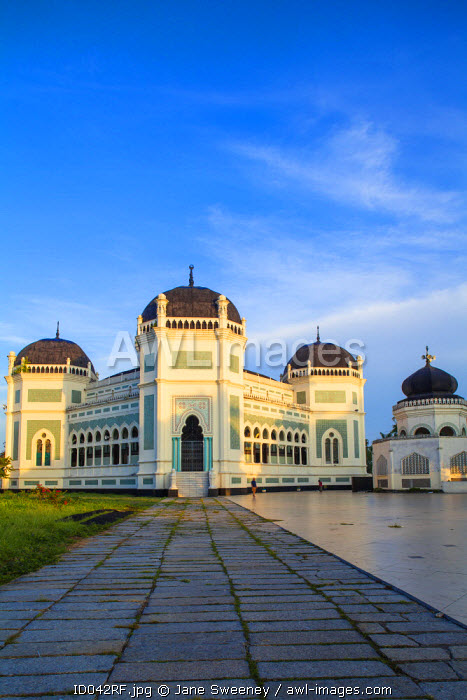 Indonesia, Sumatra, Medan, Great Mosque