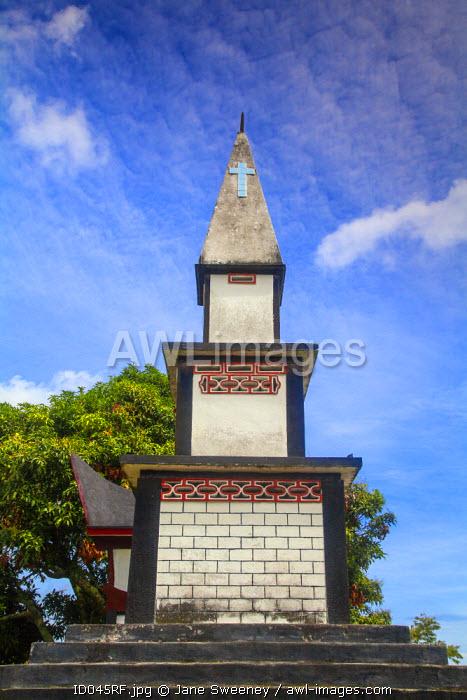 Indonesia, Sumatra, Samosir Island, Tuk Tuk, Lake Toba, Batak tomb