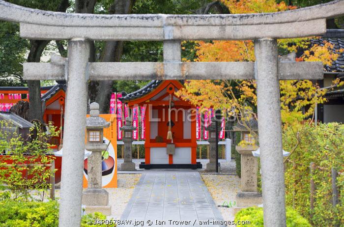 Shinto shrine of Sumiyoshi Taisha, Osaka, Kansai, Japan