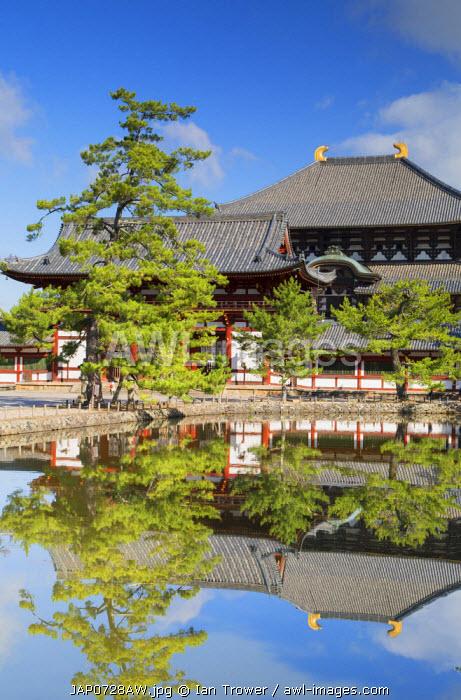 Todaiji Temple (UNESCO World Heritage Site), Nara, Kansai, Japan