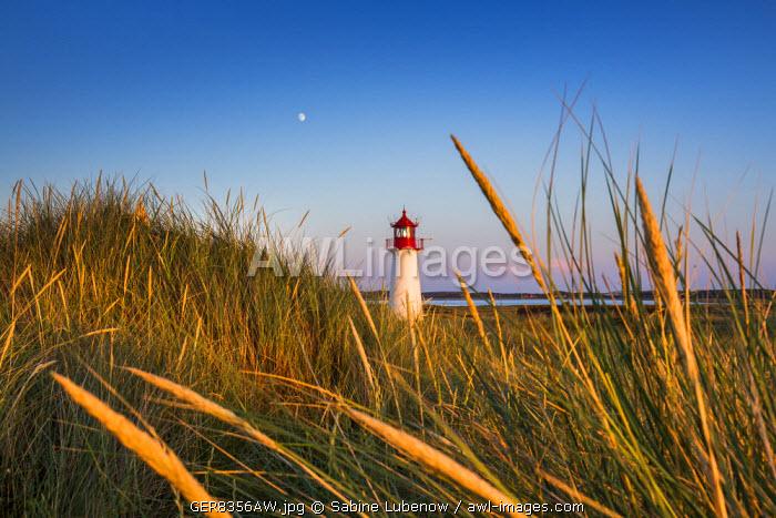 Lighthouse List West, Sylt Island, Northern Frisia, Schleswig-Holstein, Germany
