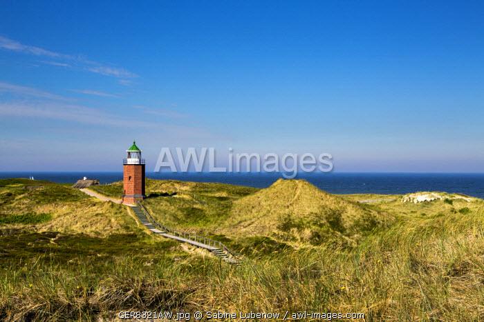Old lighthouse, Kampen, Sylt Island, Northern Frisia, Schleswig-Holstein, Germany