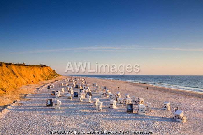 red cliff, Kampen, Sylt Island, Northern Frisia, Schleswig-Holstein, Germany